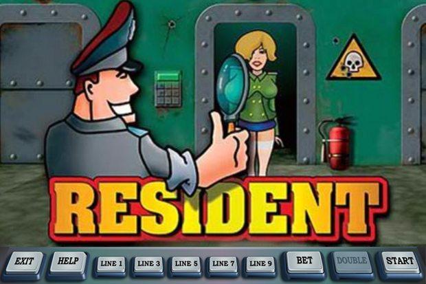 Игровой автомат Resident в казино Фреш