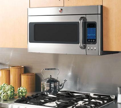 Микроволновая печь в современном интерьере