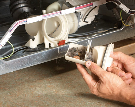 Ремонт двигателя стиралки