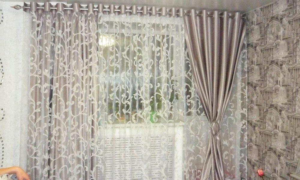текстиль на окна. Фото