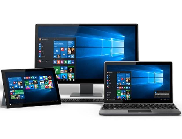 """Windows 10 набирает популярность, но """"Семерка"""" по прежнему вне конкуренции"""