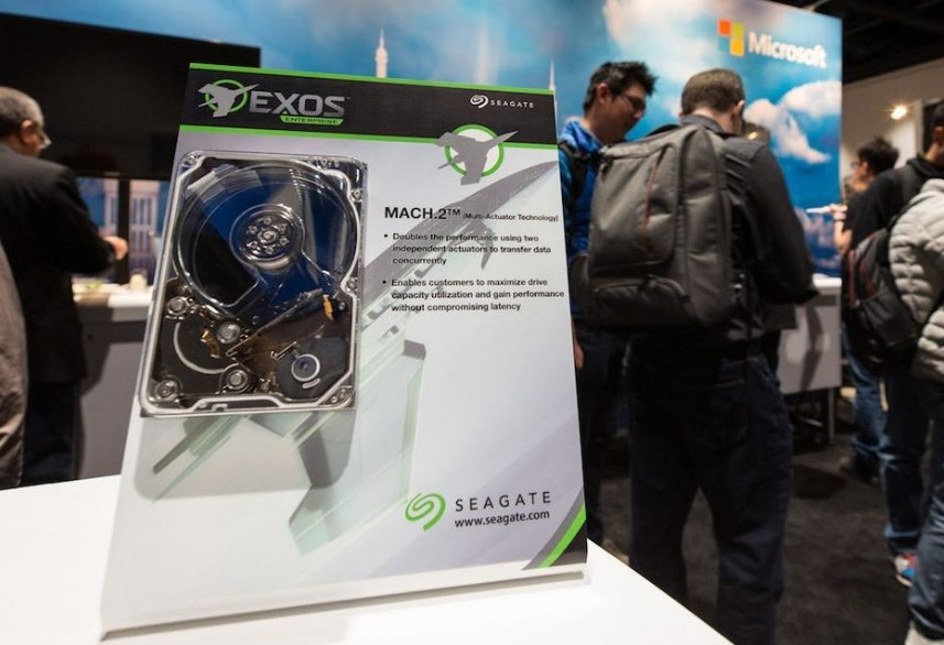 Seagate представляет первый жесткий диск с технологией MACH.2 Multi Actuator