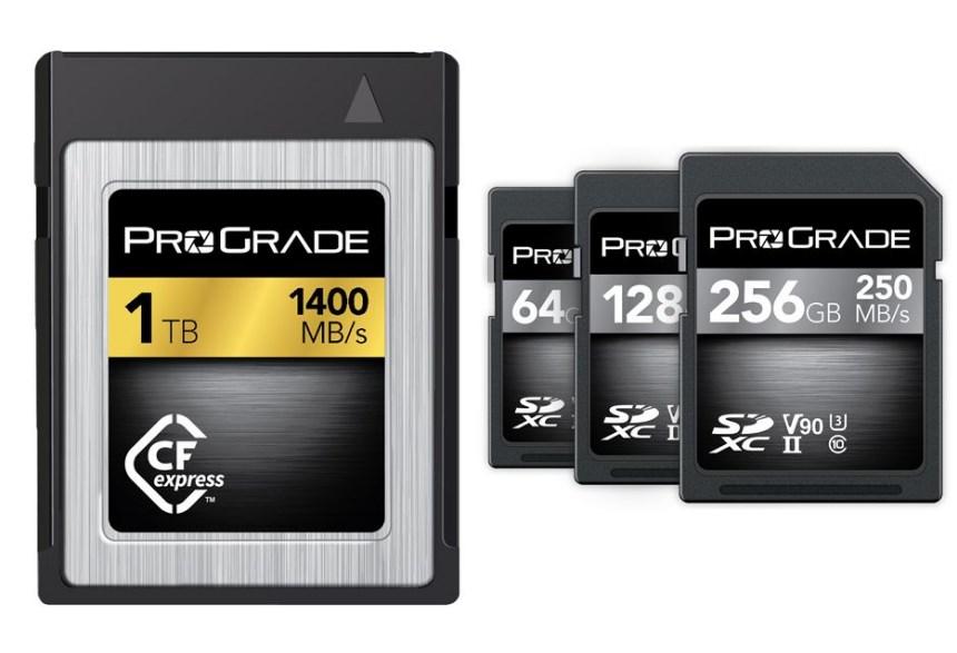 Первая карта памяти CFexpress объемом 1TB и сверхскоростная карта памяти SD