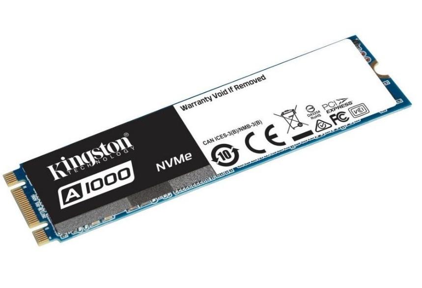 Kingston A1000 - бюджетные жесткие диски M.2 NVMe