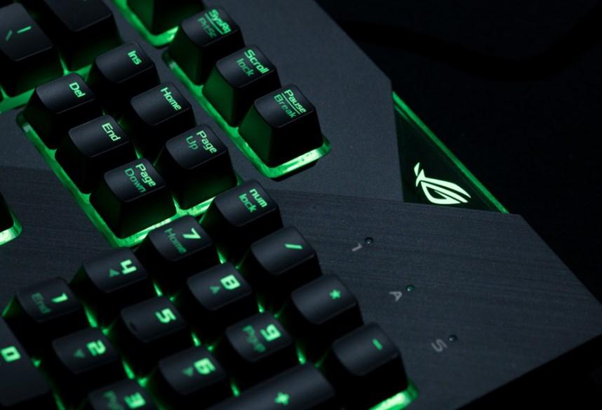 Клавиатура ASUS ROG Strix Flare способна впечатлить даже требовательных пользователей