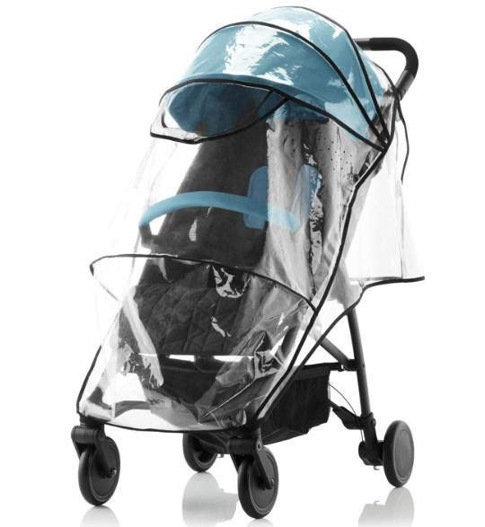 3 вещи, которые нужно взять с собой выходя с младенцем на осеннюю прогулку. Дождевик на коляску