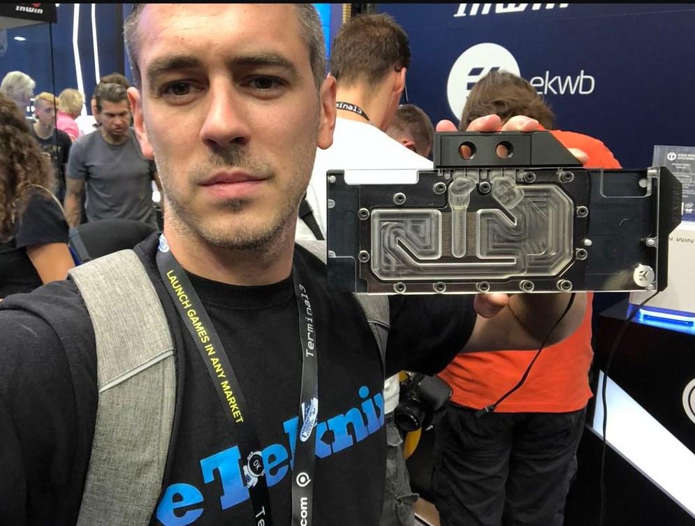Прототип блока был представлен уже во время выставки Gamescom 2018