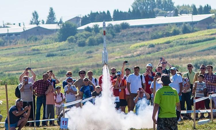 Ukraine Rocketry Challenge 2018: ракеты S2P завоевывают небо над Черниговым