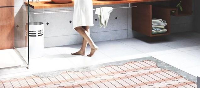 Несгораемый инфракрасный тёплый пол под плитку