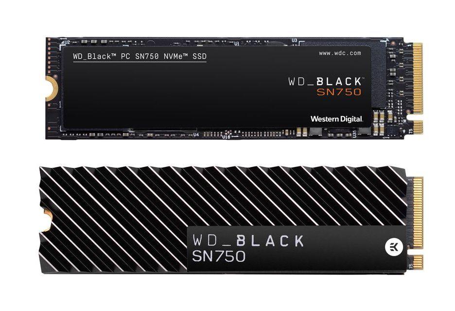 WD Black SN750 - мощные SSD для требовательных пользователей