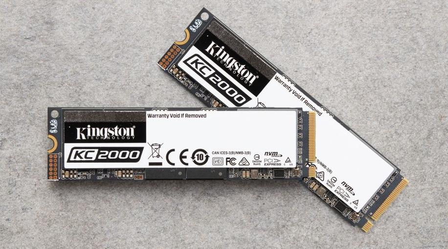 KC2000 - Kingston представляет свой лучший SSD