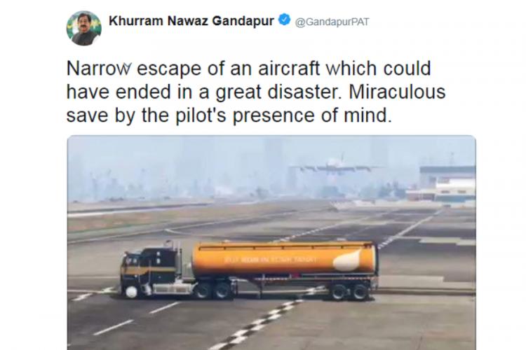 Пакистанский политик принял клип из GTA V за реальность и написал об этом в Twitter