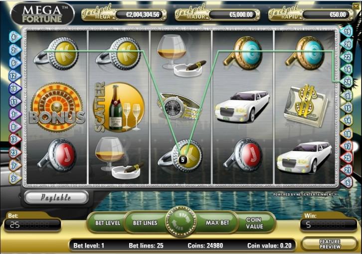 Mega Fortune - лучший игровой автомат от казино Эльдорадо