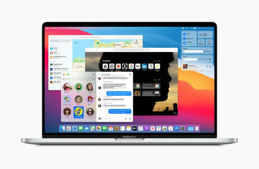 macOS 11 получила дизайнерское обновление