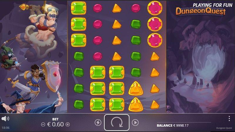 игровой автомат Dungeon Quest в Joker WIN Casino