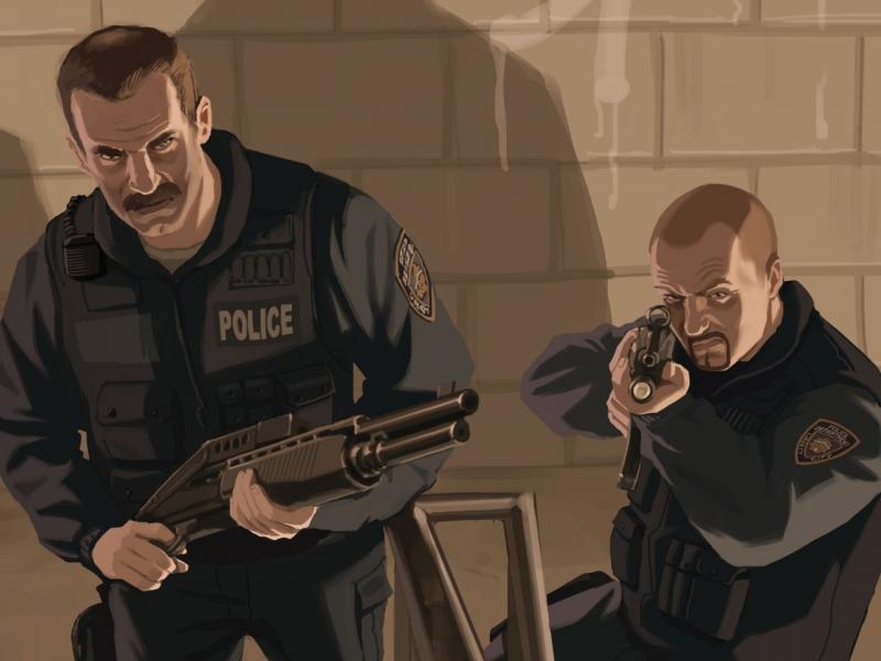 На страже закона: в реальности и в мире видеоигр