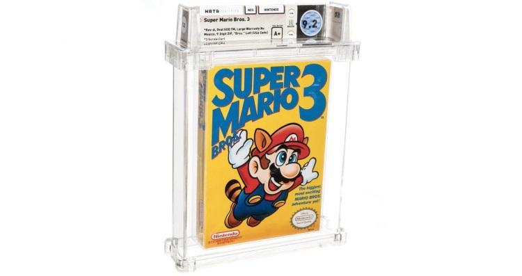 На аукциона за рекордные $156 тыс. продали нераспечатанную копию Super Mario Bros. 3