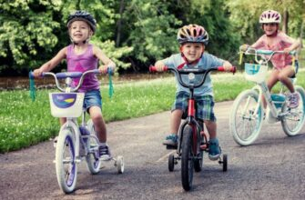 Велобайки на пять лет
