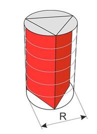 Правильна трикутна призма може бути вписана в циліндр .