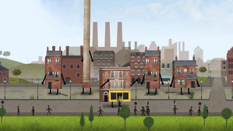 В марте выйдет симулятор управления городом Buildings Have Feelings Too!