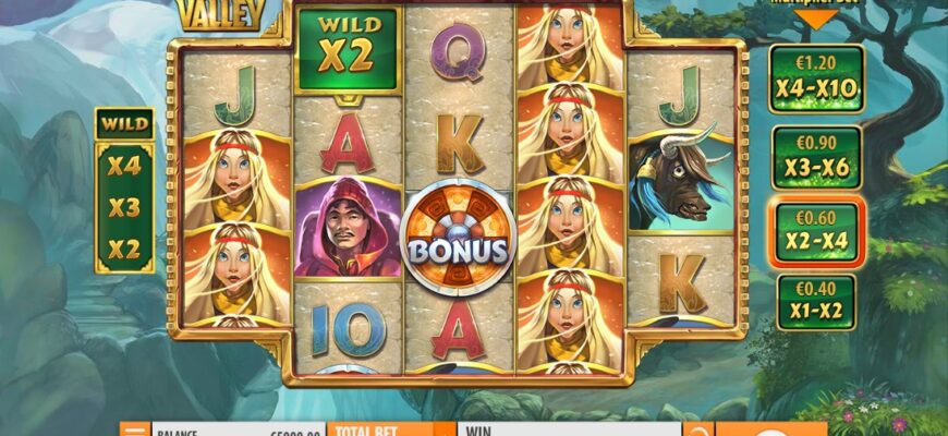 Игровой автомат Hidden Valley от казино Джокер- обзор и отзывы
