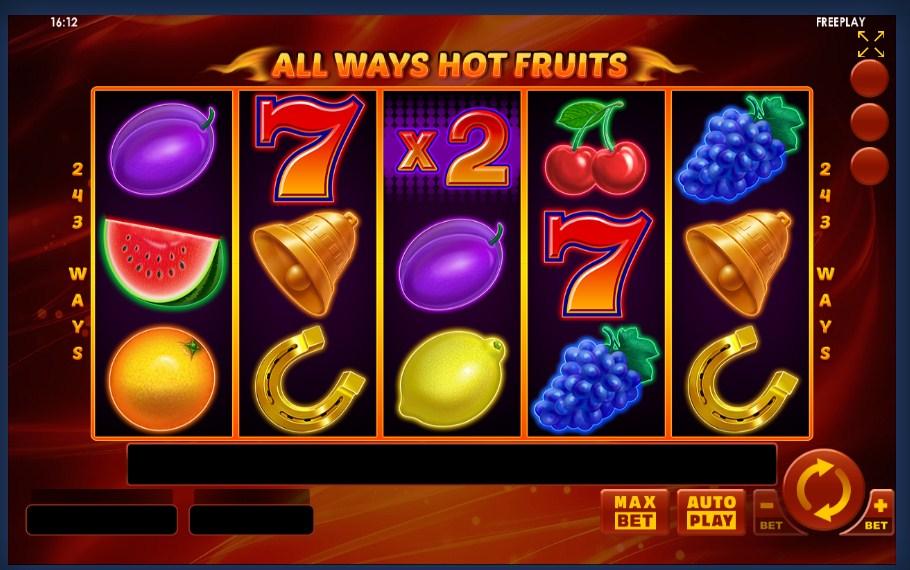 Рокс Казино - игровые автоматов Hot Fruits на любой вкус