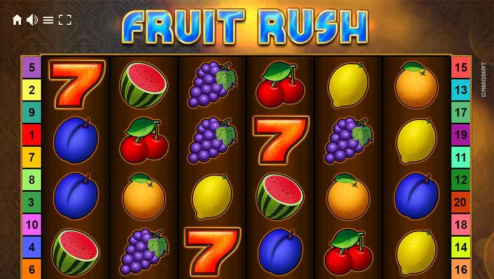 игровой автомат Fruit Rush Gamomat