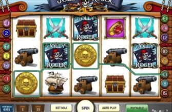 Игровой автомат Jolly Roger фото