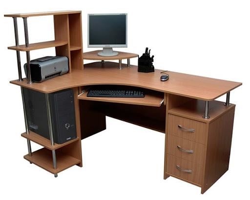 кутовий стіл комп'ютерний для школяра