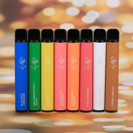 Одноразовая электронная сигарета Elf Bar 550 Disposable Pod Device 50 мг