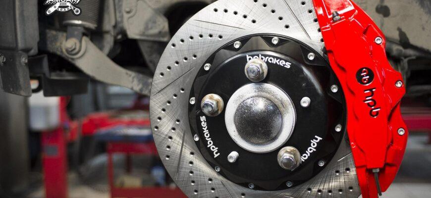 Выбор тормозных дисков и колодок на внедорожники Toyota Land Cruiser,