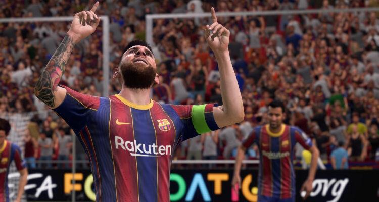 Outriders не попала в топ-5, а FIFA 21 вернулась на вершину