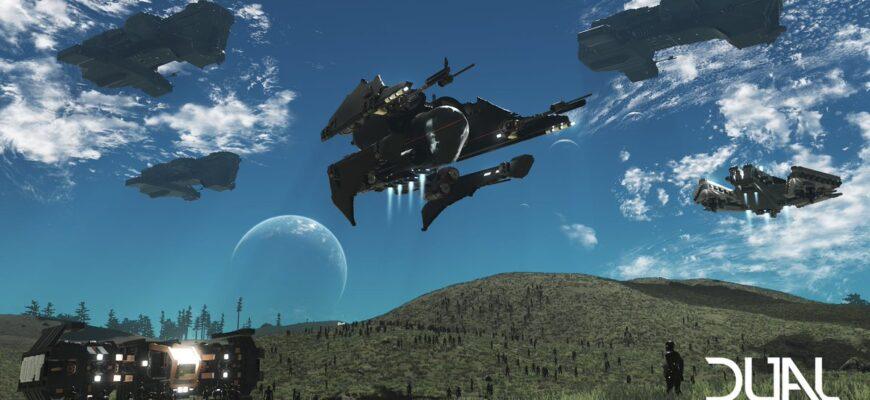 Разработчики обещают полноценный релиз игры Dual Universe в 2022 году