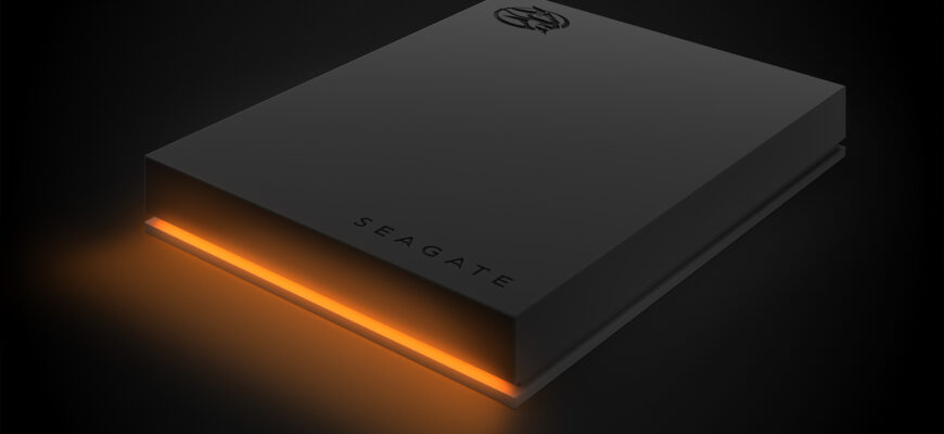 Seagate анонсирует новые игровые жесткие диски серии FIRECUDA с большими объемами