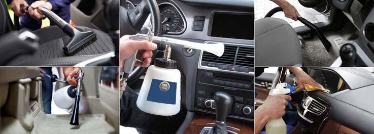 Как правильно очищать поверхности в салоне автомобиля