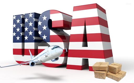 Посылки из США в Украину