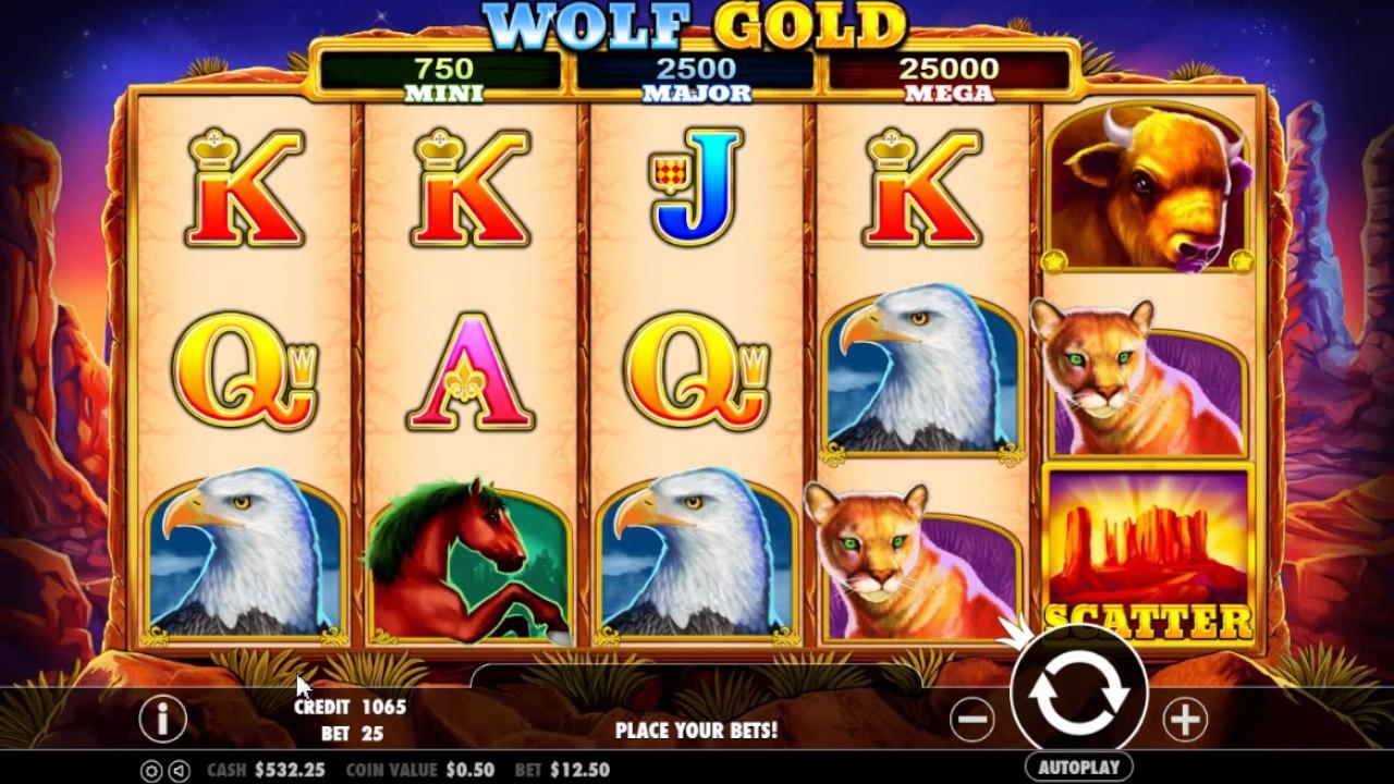 Wolf Gold слот от казино Вавада