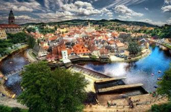 Ческі-Крумлов — одне з найкрасивіших міст Чехії