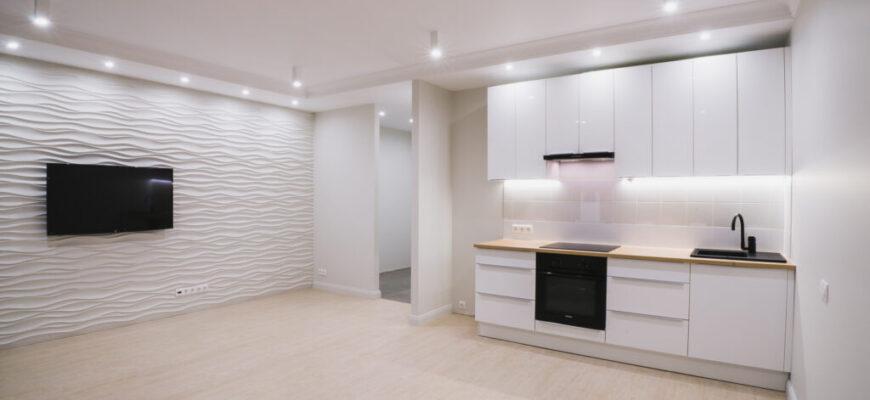 Качественный ремонт квартир в Киеве в стиле хай-тек