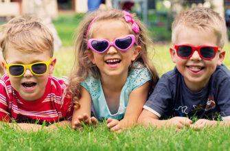 Солнцезащитные очки для малышей
