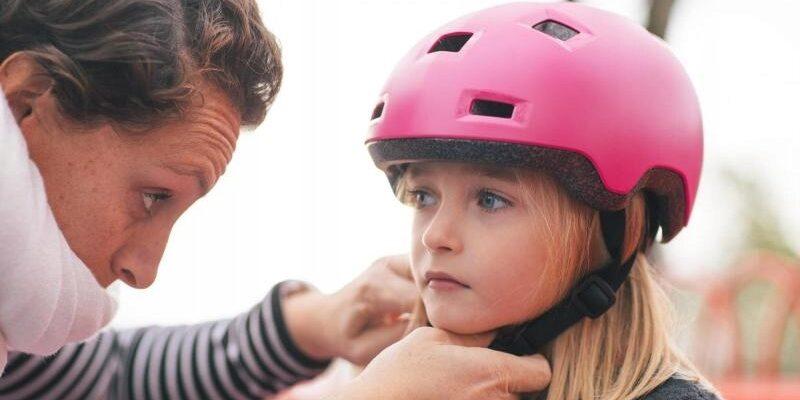 Как правильно выбрать первый шлем для ребенка - купить шлем для ребенка по хорошей цене