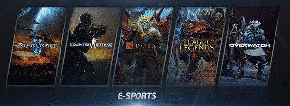 Самые популярные киберспортивные игры для ставок