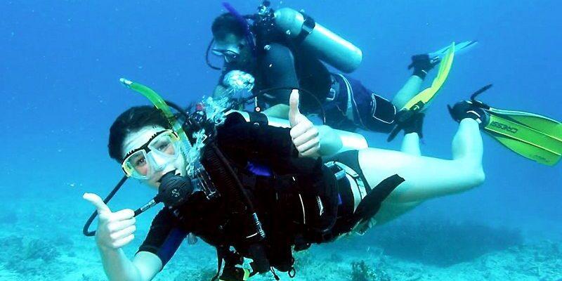 Отличное плавание с ластами от Марлин